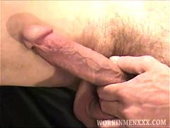 mature amateur joe beating off clip