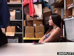 Shoplyfter - Hot Teen Fucked In Ass By Cop