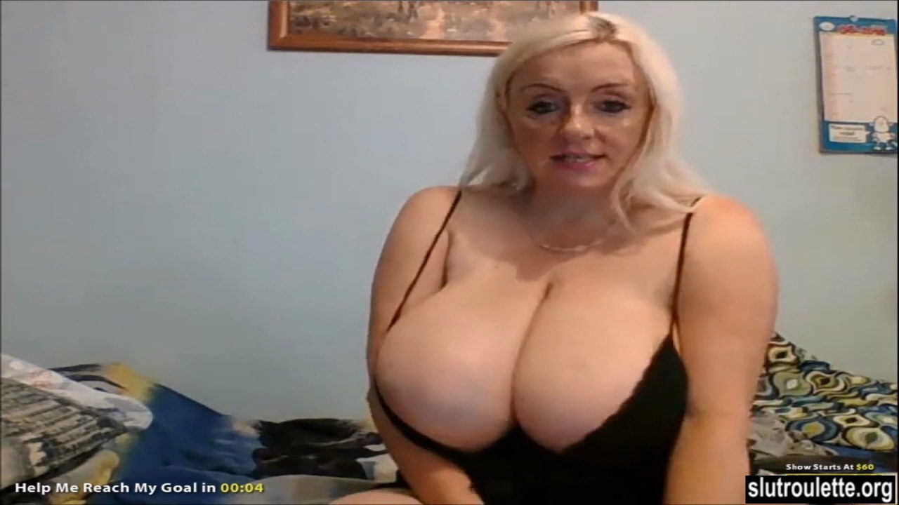 Huge tits milf covered