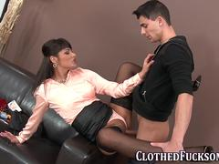 glam sluts clothes jizzed big cock