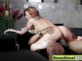 Shane Diesel destroying sexy blonde with cute tattoo by his massive thick cock