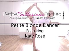 Petite Blonde Dancer - Katy Rose