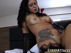 shemale gets ass fucked blowjob clip 1