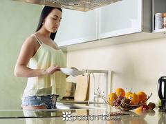 PASSION-HD Good morning kitchen fuck with sexy Anna Rose