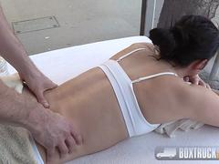Hot Kittina Coxxx does in doggy style
