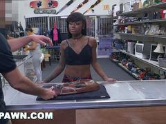 Ceremonial Sex with a black chick in The XXX Pawn Shop