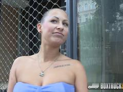 Beautiful Lia E Enjoys an Erotic Sex Massage in Public