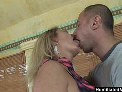 HumiliatedMilfs - Mature Lindsay goes wild over young studs