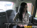 Big fake tits brunette Skyler smashed in the fake taxi