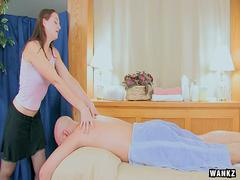 WANKZ- Masseuse Done From Behind