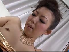 Cock sucking mom, Yuki Asami, craves for a rough fuck