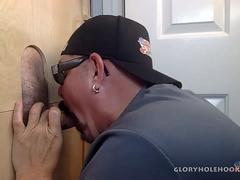 Sucking Business Guy At The Gloryhole