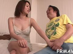 dazzling and wet asian fellatio movie clip 1