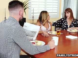 FamilyStrokes - Hot Teen Shows Off Her Pussy For Uncle