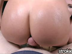 STROKIES Cali Carter and Layla Price Double Handjob