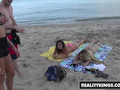 RealityKings - Money Talks - Ava Kelly Brick Danger Mila Castro - Beach Bum