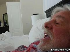 FamilyStrokes - Cute Housewife Fucks Stepson