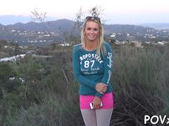 shaved cameltoe endures ramming teen segment 4