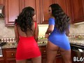 multiples of orgasms for ebony video film 1