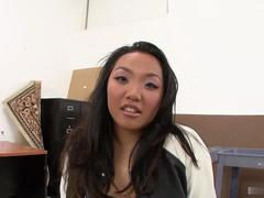 Horny Asian Katreena Lee Ready to Have Black Interracial Dong First Time