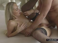 LaSublimeXXX Hot blonde Jenny Simons gets her sweet ass filled in