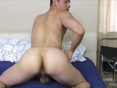 Jordan Cruz Finger His Ass and Jerk