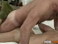 Gay studs asshole rimmed