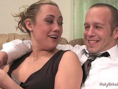 gwen diamond pegging submissive guy segment