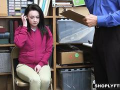 ShopLyfter - Teen Gets Caught Shoplifting And Fucks Officer