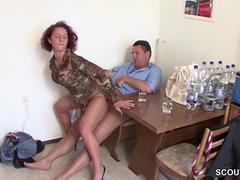 German red head milf
