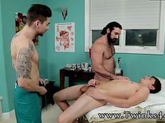 Gay hairy licking armpit cum eating Doctors Double Dose