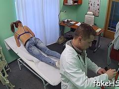 sexy doctor cums inside fake hospital feature film 1