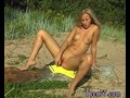 Granny outdoor and reality creampie teen Linda gets naked on the beach