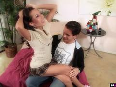 Amia Miley Gets Her Babysitter Pussy Banged