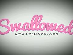 SWALLOWED Blowbang with Zoe, Pamela and Rosalyn