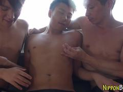 Sucked japanese twink