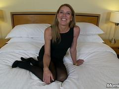 Petite All Natural Cougar Craves Big Cock POV