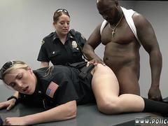 Blonde step mom young cock Milf Cops