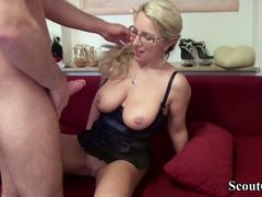 Download German Milf Seduce His New Worker To Fuck On Work