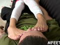 asian style of making a footjob clip movie 1