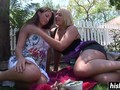 Best friends enjoy a lesbian session