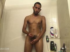 Brian Bonerz Jerks Of In Shower