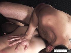 Hairy bears fingering and assfucking