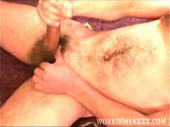 Mature Amateur Evan Beating Off