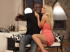 BLACK4K. Black on white porn video of athletic guy and blonde chick