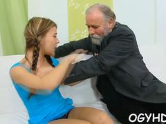 stunning  gal rides old rod clip video 2