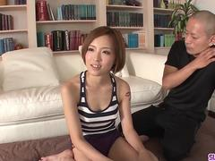 Ena Ouka serious group sex scenes and fantasy blowjob - More at Slurpjp.com