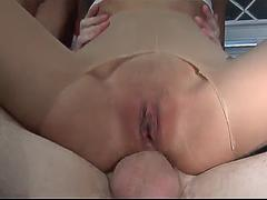 Exclusive Scene Thai Amateur Kat Does DP In The Kitchen And Bed Skinny Babe Gets Gape