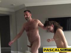 Fingered bdsm whore anal