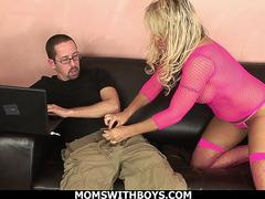 Horny Blonde Wife Chennin Blanc Couch Fuck With Husband